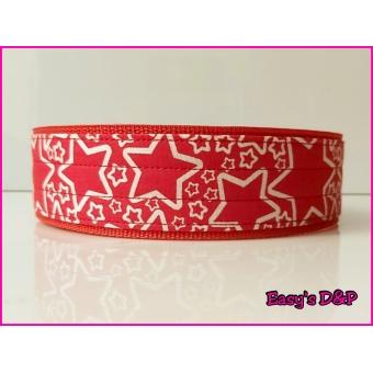 Rood sterren 4 en 5 cm hb