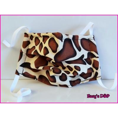Mondkapje giraffe print
