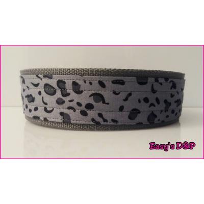 Panterprint grijs grijs nylon hb 5cm