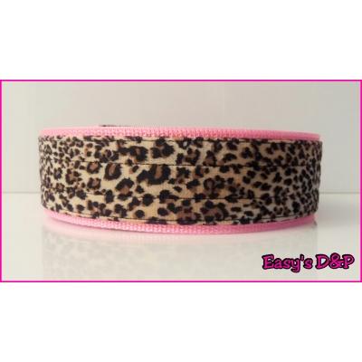 Panterprint teddy baby roze hb 5cm